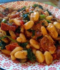 chorizo-stew